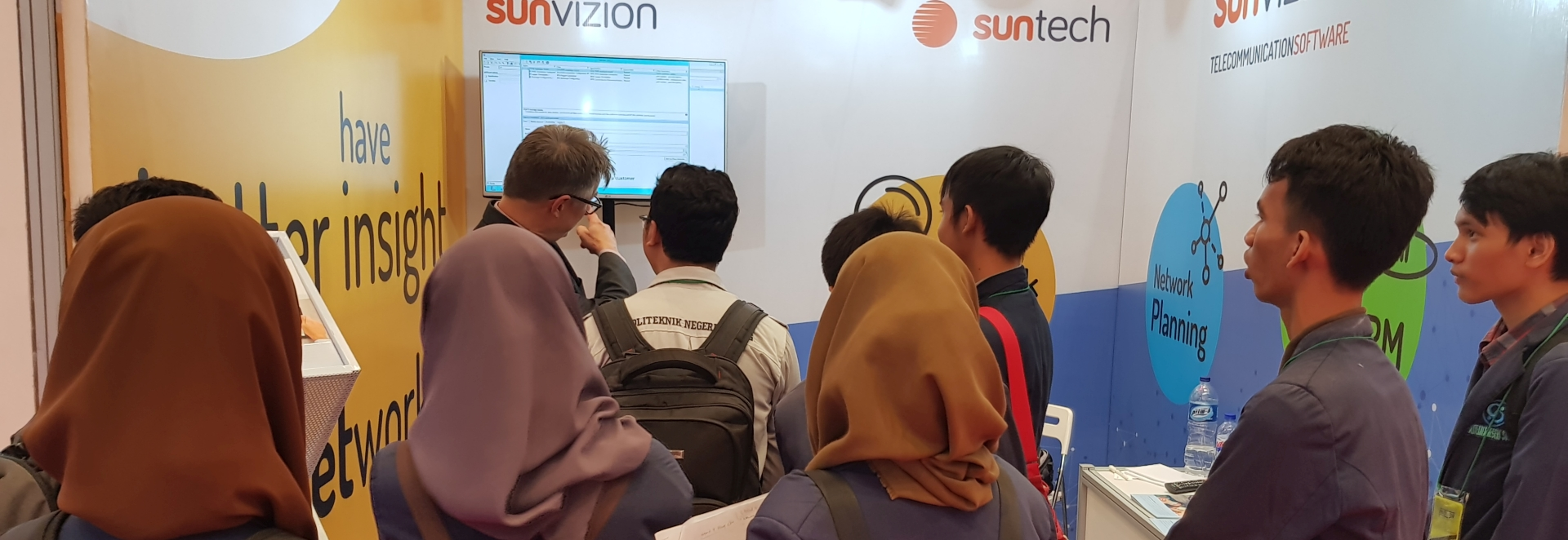 SunVizion na Communic Indonesia 2018